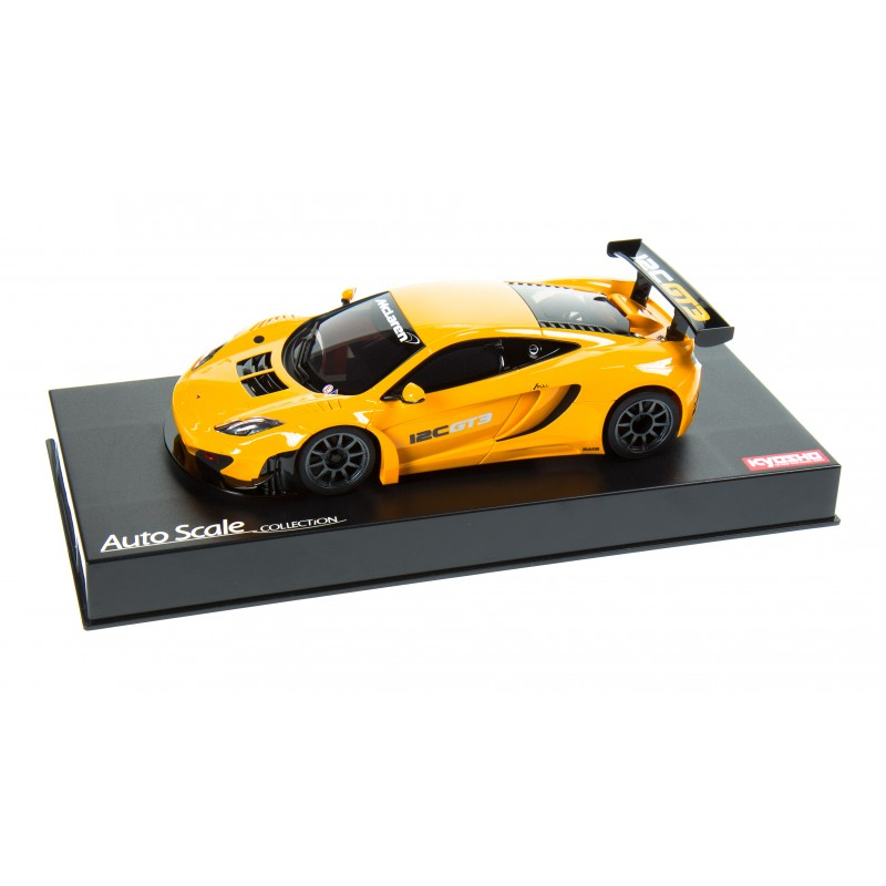 kyosho mini z karosserie mclaern 12c gt3 2013 orange. Black Bedroom Furniture Sets. Home Design Ideas