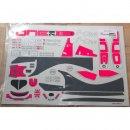 WRC-Karosserie-Aufklebersatz-Pink