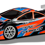 Serpent Medius X20 1/10 4WD MID Alu / Carbon
