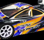 Serpent Medius X20 '21 Carbon 1/10 EP (SER400037) / Alu